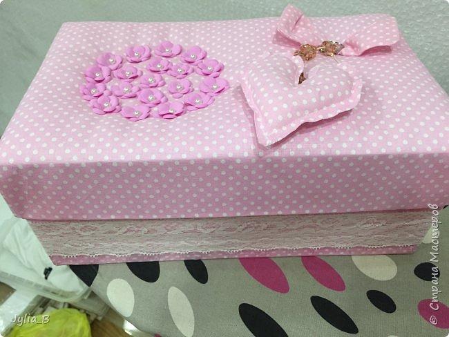 Подарок девочке на 10 лет. Коробка для мелочей и блокнот фото 2