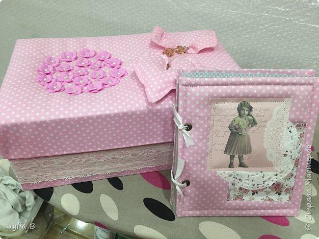 Подарок девочке на 10 лет. Коробка для мелочей и блокнот фото 3