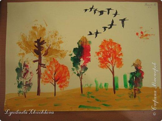 Осенний пейзаж фото 6