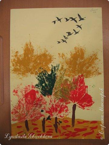 Осенний пейзаж фото 2