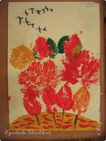 Осенний пейзаж фото 5