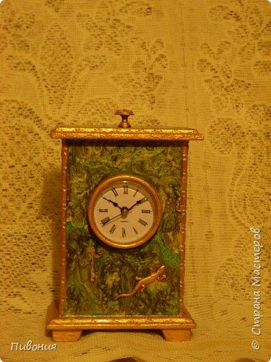 Эти часы я делала, где-то 6 месяцев, долго обдумывая как они будут выглядеть... фото 1