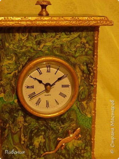 Эти часы я делала, где-то 6 месяцев, долго обдумывая как они будут выглядеть... фото 2
