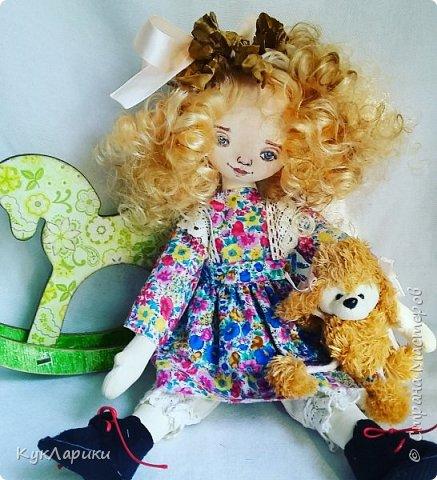 Всем Привет!А я учусь шить текстильных куколок.Хожу на М.К.в Алматы.  фото 1