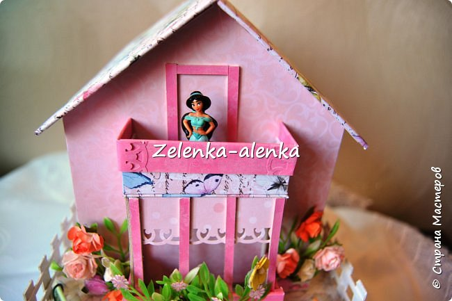 Идея принадлежит не мне. в просторах интернета я нашла такой домик, сделанный Екатериной Байдой. к сожалению МК не было и я по своим размерам смастерила свою шкатулочку фото 11