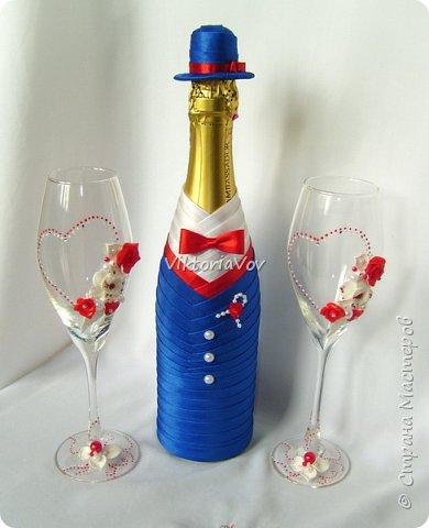 Доброго дня, вечера или ночи! Кратенько покажу мои новые чехольчики на бутылочки для красной свадьбы. Свадьба уже состоялась, желаю молодым счастья и любви!! фото 5