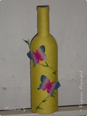 Декор бутылок (разные)-4 фото 1