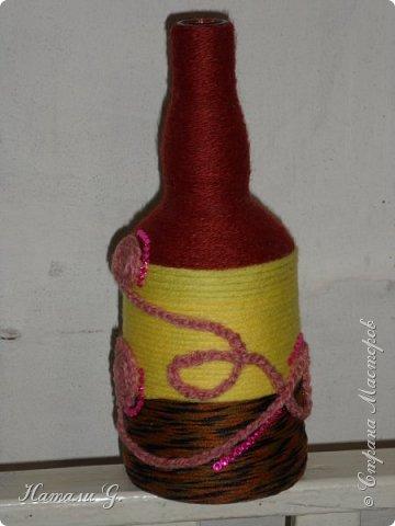 Декор бутылок (разные)-4 фото 3