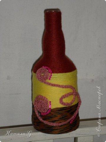Декор бутылок (разные)-4 фото 4