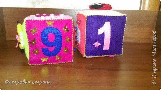 Развивающий кубик Счёт  фото 2
