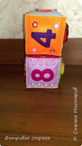 Развивающий кубик Счёт  фото 3