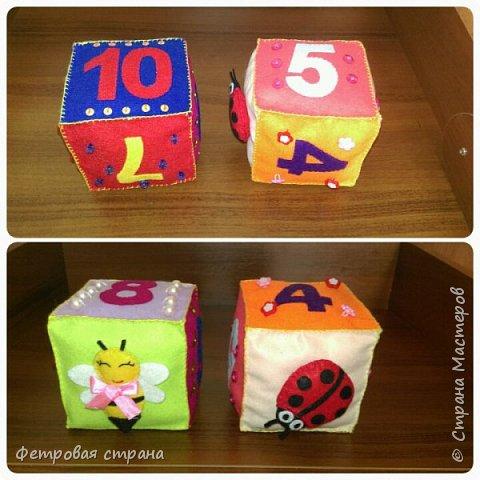 Развивающий кубик Счёт  фото 1