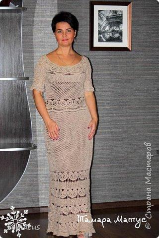 Платье на хозяйке. Подклад цвета темный шоколад фото 2