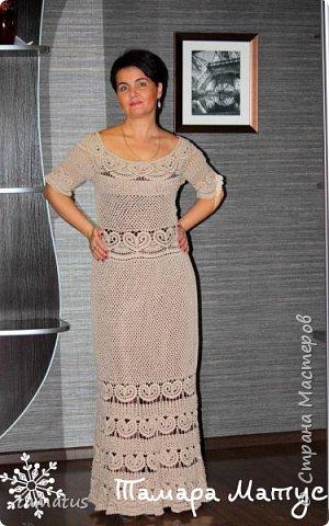 Платье на хозяйке. Подклад цвета темный шоколад фото 1