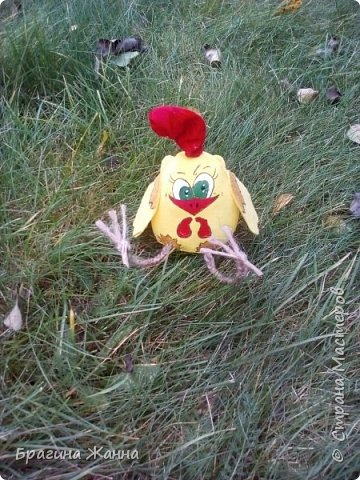 Всем жителям замечательной страны огромный привет.сегодня я к вам с малышкой)))петушком ,но еще цыпленком))))автор такого цыпленка замечательная мастерица Л.Набиуллина ,но мк у нее платные .и вот увидела я такого петушка вот тут http://stranamasterov.ru/node/1049448 за что спасибо девочкам за вдохновение)))))))))))))))) покупать мк я не имею возможности )))а вот самой попробовать посмотрев просто на картинку мне захотелось))))и вот что у меня получилось))очень быстро и без проблем)))чего и вам желаю! фото 8