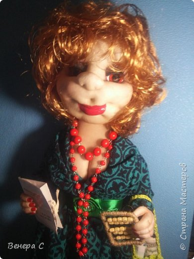 Кукла пакетница фото 1