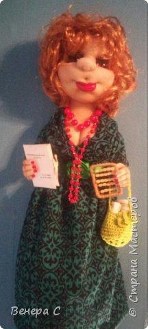 Кукла пакетница фото 2