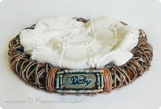 Корзина - гнездо для фото сессии малыша. фото 1