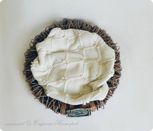 Корзина - гнездо для фото сессии малыша. фото 3