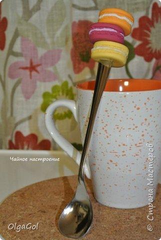 Вкусная ложечка с макарунами фото 2