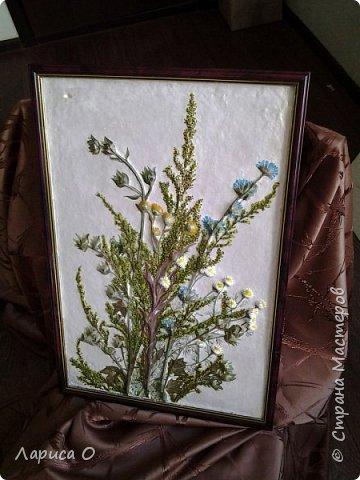 цветочный барельеф из гипса фото 2
