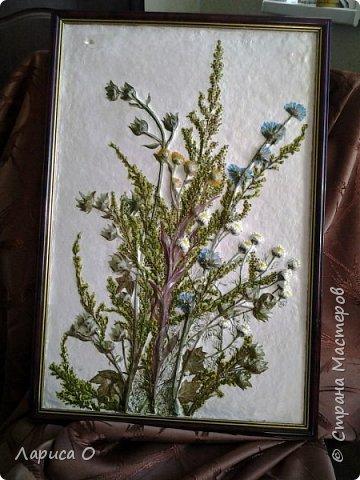 цветочный барельеф из гипса фото 1