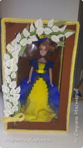 Добрый вечер, СМ. Вот такая первая коробочка для куклы получилась у меня.  фото 1