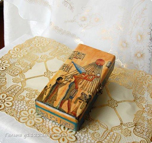 Заказчица выбирала мотив, ей хотелось, чтобы был Древний Египет фото 1