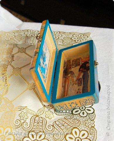 Заказчица выбирала мотив, ей хотелось, чтобы был Древний Египет фото 2