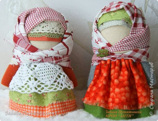 КРУПЕНИЧКА - народная обережная куколка фото 3