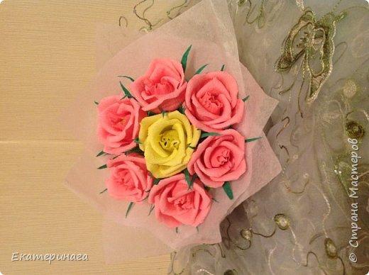 Мини букеты с розами фото 1
