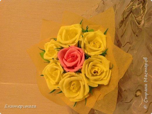 Мини букеты с розами фото 2