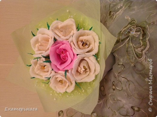 Мини букеты с розами фото 3
