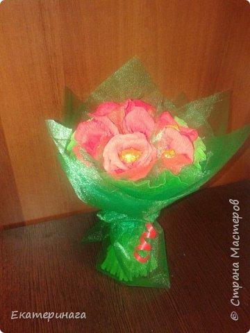 Мини букеты с розами фото 4