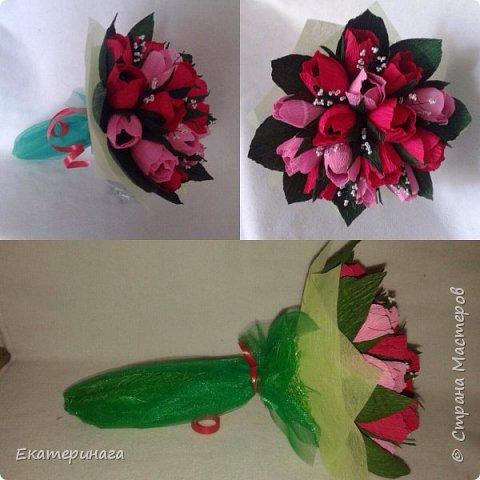 Мини букеты с розами фото 6