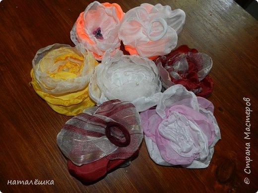 Всем привет! Вот такие бантики-резиночки для своей дочки я мастерю.  фото 12