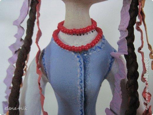 Доброго праздничного дня! Покажу Вам работу, которую доделала как раз к празднику.Кое-какие детали позаимствовала у Юлии Галеевой. За идеи ей огромное спасибо. Постаралась как можно ближе показать украинский наряд, в котором ходили наши предки в 19 столетии. фото 3