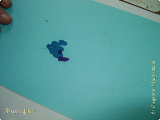 И снова пластилин... Рыбка. фото 11