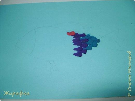 И снова пластилин... Рыбка. фото 13