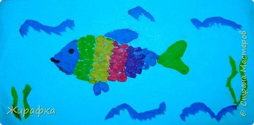 И снова пластилин... Рыбка. фото 1