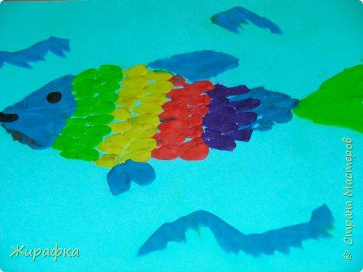 И снова пластилин... Рыбка. фото 2