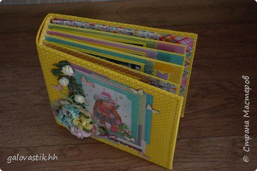 Альбом - книга пожеланий для Ксении на первый юбилей фото 6