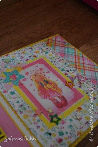 Альбом - книга пожеланий для Ксении на первый юбилей фото 5