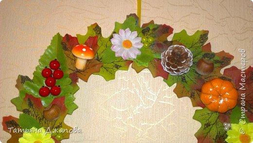 """В садике попросили принести поделку на праздник осени, вот сотворилась за ночь такая """"красота"""", аж отдавать жалко, но так как обещала принести пришлось отдать, дети довольные понесли в сад. фото 5"""