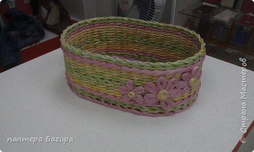 У сотрудницы был день рождения,захотелось сделать подарок своим руками.не знаю что это:конфетница или сухарница ,хозяйка сама уж решит. фото 1