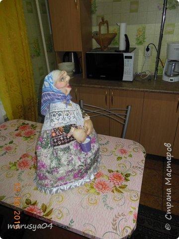 Вот очередная бабуля уродилась - на 80-летие хорошей соседки. В руках ведро с молоком. фото 7