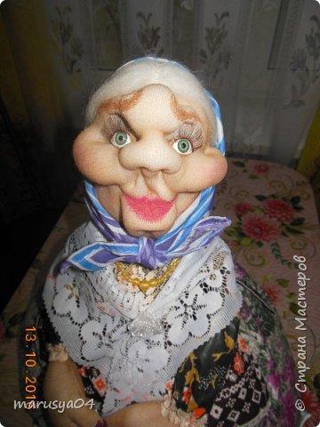 Вот очередная бабуля уродилась - на 80-летие хорошей соседки. В руках ведро с молоком. фото 8