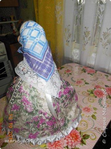 Вот очередная бабуля уродилась - на 80-летие хорошей соседки. В руках ведро с молоком. фото 10