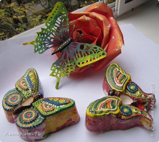 Здравствуйте, дорогие Мастера! И снова я к Вам с воспоминаниями о лете! Хочу представить Вам мои аромабабочки. Увидела в магазине силиконовые формы в виде бабочек и решила сделать аромакамни в виде бабочек. фото 1