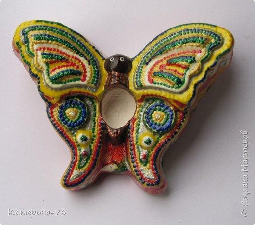 Здравствуйте, дорогие Мастера! И снова я к Вам с воспоминаниями о лете! Хочу представить Вам мои аромабабочки. Увидела в магазине силиконовые формы в виде бабочек и решила сделать аромакамни в виде бабочек. фото 5